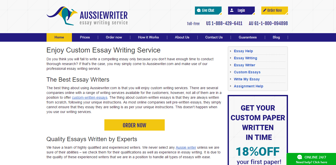 Best essay writing company